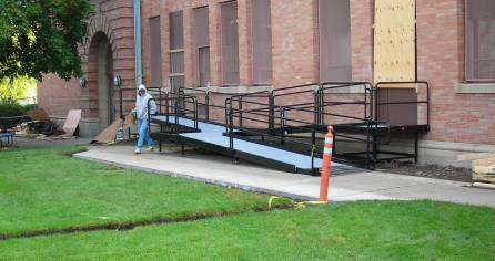 Concrete Deck Ramp