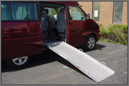 Mounted Van Ramp