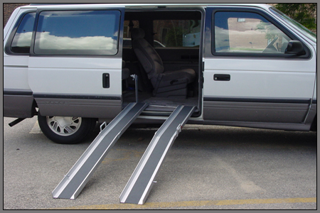 folding van ramps aluminium loading ramps the ramp company the