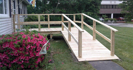 Wooden Ramps, Wheelchair Ramps, Wheel Chair Ramps, Ramps, Building